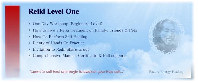 reiki level one attunement