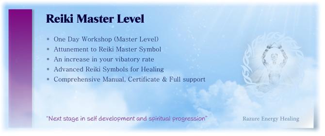 reiki master level attunement