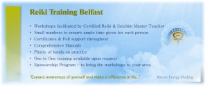 reiki training belfast