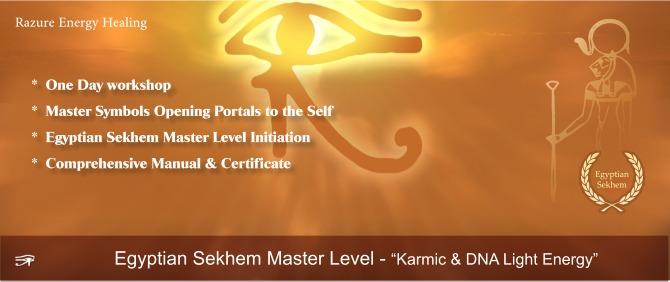 Egyptian Sekhem Master Level