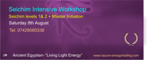 Seichim Mastership Weekend Workshop