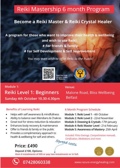 Reiki mastership Programme